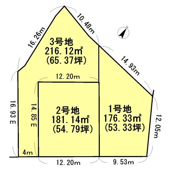 栗東市御園売地 65.37坪