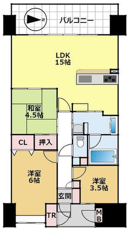 ロータリーマンション大津京レアール