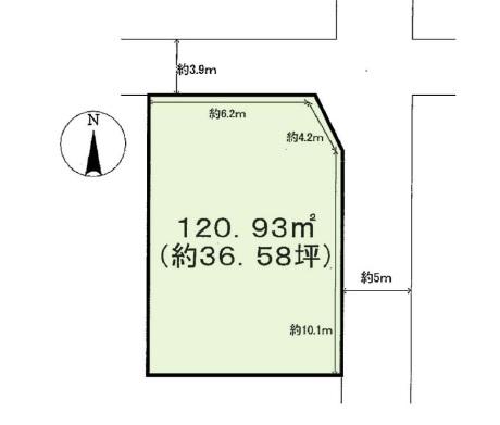 大津市昭和町土地 36.58坪
