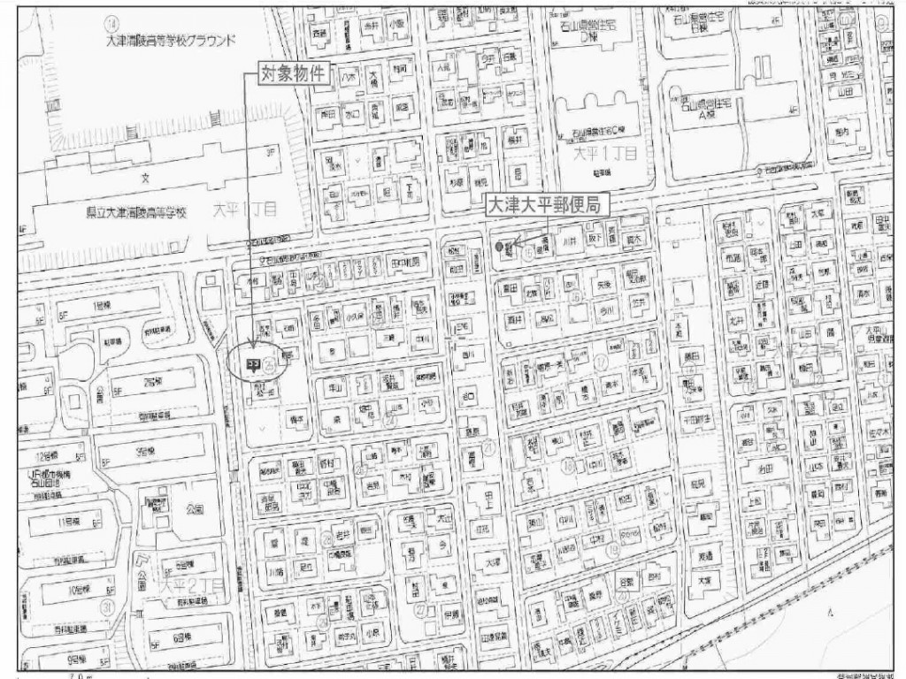 大津市大平2丁目土地 73.86坪