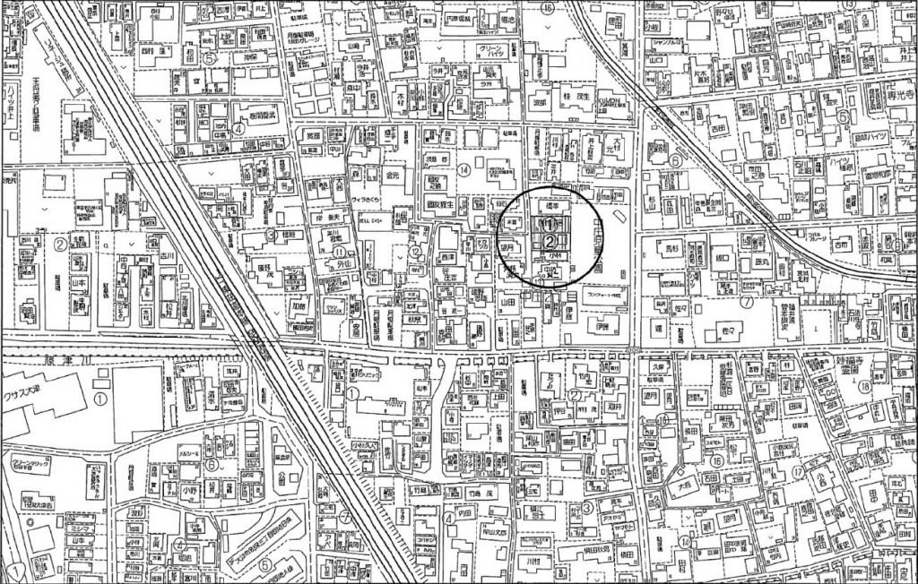 大津市中庄2丁目土地57.75T 2区画